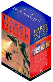 Cover of: Harry Potter Boxed Set (Volumes 1-4) by JK Rowlings