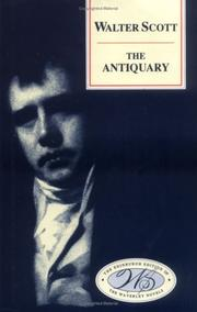 Cover of: The antiquary by Sir Walter Scott