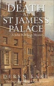 Cover of: Death at St. James's Palace (A & B Crime Collection) by Deryn Lake