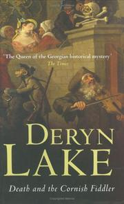 Cover of: Death And the Cornish Fiddler by Deryn Lake