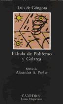 Cover of: Polifemo by Luis de Góngora y Argote