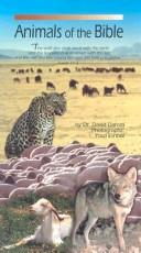 Cover of: Animals of the Bible by David Darom