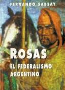 Cover of: Rosas by Fernando L. Sabsay