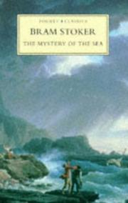 Cover of: The mystery of the sea by Bram Stoker