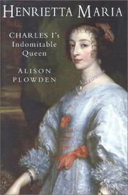 Cover of: Henrietta Maria by Alison Plowden
