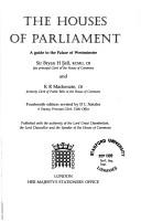 Cover of: The Houses of Parliament by Great Britain. Parliament.