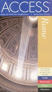 Cover of: Access Rome by Richard Saul Wurman