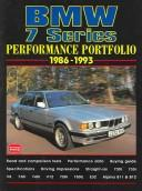 Cover of: Bmw 7 Series Performance Portfolio, 1986-1993 by R. M. Clarke