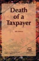 Cover of: The death of a taxpayer by Suzanne Hanson