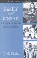Cover of: Family and kinship by T. N. Madan