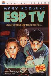 Cover of: ESP TV by Mary Rodgers