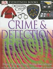 Cover of: Crime & detection by Brian Lane
