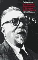 Cover of: Cybernetics by Norbert Wiener