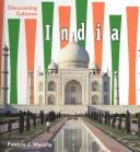 Cover of: India (Discovering Cultures) by Patricia J. Murphy