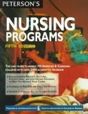 Cover of: Peterson's Guide to Nursing Programs by Peterson's