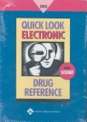 Cover of: Quick Look Drug Book 2003 (Quick Look Drug Books) by Stedmans
