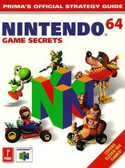Cover of: Nintendo 64 by Simon Hill, Warren Lapworth, Jem Roberts