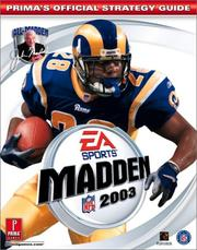 Cover of: Madden NFL 2003 by Mark Cohen
