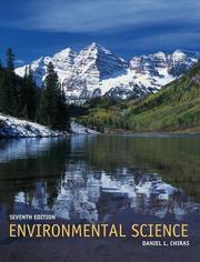 Cover of: Environmental science by Daniel D. Chiras