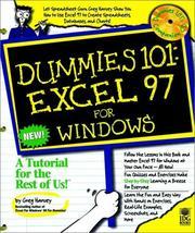 Cover of: Dummies 101 by Greg Harvey