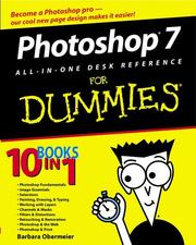 Cover of: Photoshop 7 all-in-one desk reference for dummies by David D. Busch