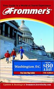 Cover of: Frommer's Washington, D.C. from $80 a Day by Elise Ford