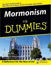 Cover of: Mormonism for dummies by Jana Riess