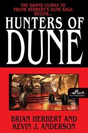 Cover of: Hunters of Dune by Kevin J. Anderson