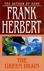 Cover of: The green brain by Frank Herbert