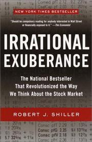 Cover of: Irrational exuberance by Robert J. Shiller