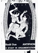 Cover of: Antiphon by Bodil Due