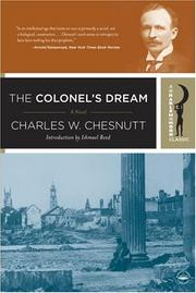 Cover of: The colonel's dream by Charles Waddell Chesnutt