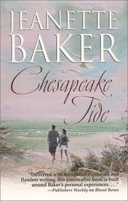 Cover of: Chesapeake tide by Jeanette Baker