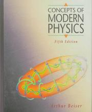 Cover of: Concepts of modern physics by Arthur Beiser