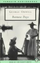 Cover of: Burmese Days by George Orwell