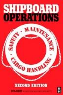 Cover of: Shipboard operations by H. I. Lavery