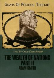 Cover of: The Wealth of Nations Part 2 by Adam Smith