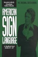 Cover of: American sign language by Dennis Cokely