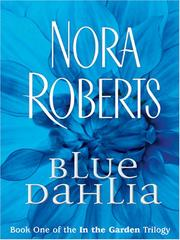 Cover of: Blue dahlia by Barbara Cartland