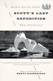 Cover of: Scott's last expedition by Robert Falcon Scott