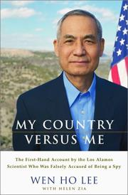 Cover of: My Country Versus Me by Wen Ho Lee