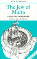Cover of: The Jew of Malta by Christopher Marlowe