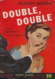 Cover of: Double, double by Ellery Queen