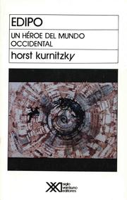 Cover of: Edipo by Horst Kurnitzky