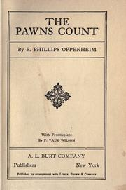 Cover of: The Pawns Count by E. Phillips Oppenheim