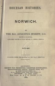 Cover of: Norwich by Jessopp, Augustus