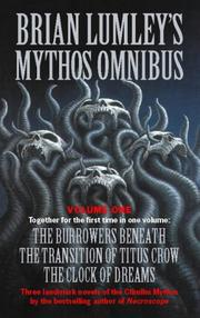 Cover of: Brian Lumley&#39;s Mythos Omnibus No 1 by Brian Lumley