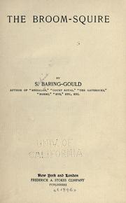 Cover of: The Broom-squire by Baring-Gould, S.