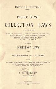 Cover of: Pacific coast collection laws by J. H. Jellett