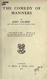 comedy of manners The importance of being earnest was an early experiment in victorian melodrama part satire, part comedy of manners, and part intellectual farce, this play seems to have nothing at stake because the world it presents is so blatantly and ostentatiously artificial.